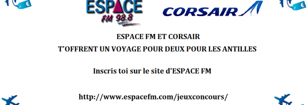 corsair voyage pour 2 espace fm. Black Bedroom Furniture Sets. Home Design Ideas